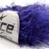 Lot of 8 Skeins Ice Yarns LONG EYELASH Hand Knitting Yarn Purple