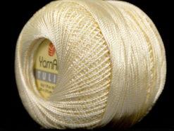Lot of 6 Skeins YarnArt TULIP (100% MicroFiber) Hand Knitting Yarn Cream