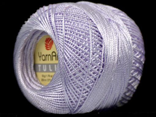 Lot of 6 Skeins YarnArt TULIP (100% MicroFiber) Hand Knitting Yarn Light Lilac