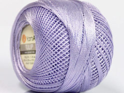 Lot of 6 Skeins YarnArt TULIP (100% MicroFiber) Hand Knitting Yarn Lilac