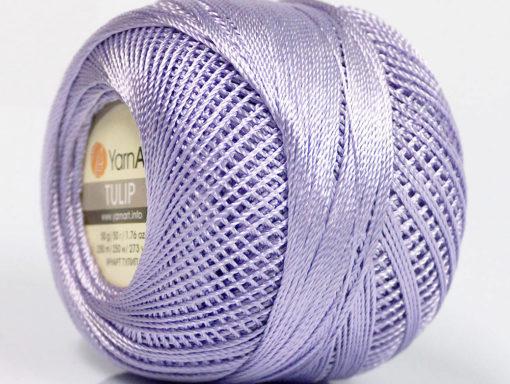 Lot of 6 Skeins YarnArt TULIP (100% MicroFiber) Hand Knitting Yarn Lilac
