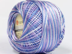 Lot of 6 Skeins YarnArt TULIP (100% MicroFiber) Yarn Pink Blue White