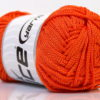 Lot of 4 x 100gr Skeins Ice Yarns MACRAME CORD Hand Knitting Yarn Orange
