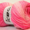 Lot of 4 x 100gr Skeins Ice Yarns MAGIC LIGHT Hand Knitting Yarn Pink Shades