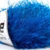 Lot of 8 Skeins Ice Yarns EYELASH Hand Knitting Yarn Blue
