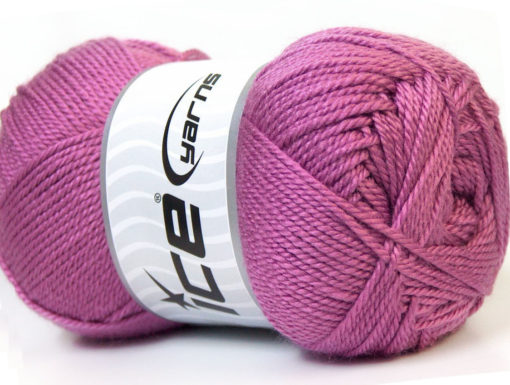 Lot of 4 x 100gr Skeins Ice Yarns DORA Hand Knitting Yarn Orchid
