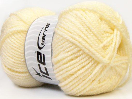 Lot of 4 x 100gr Skeins Ice Yarns Bulky ATLAS Hand Knitting Yarn Cream