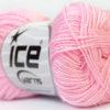 Lot of 10 Skeins Ice Yarns ETAMIN Hand Knitting Yarn Light Pink