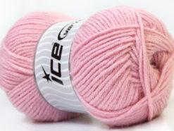 Lot of 4 x 100gr Skeins Ice Yarns ZERDA ALPACA (30% Alpaca 70% Dralon) Yarn Light Pink