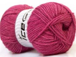 Lot of 4 x 100gr Skeins Ice Yarns ZERDA ALPACA (30% Alpaca 70% Dralon) Yarn Pink