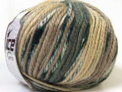 Lot of 4 x 100gr Skeins Ice Yarns ALPACA BULKY MAGIC (25% Alpaca 35% Wool) Yarn Camel Cream Grey