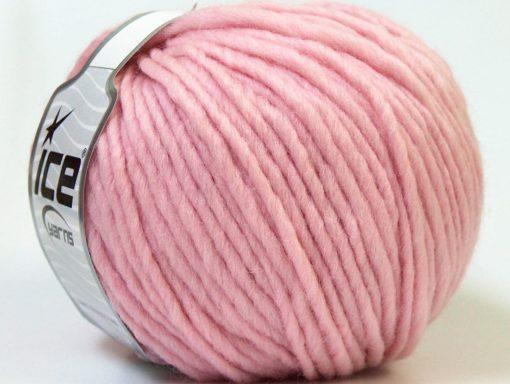 Lot of 4 x 100gr Skeins Ice Yarns FILZY WOOL (100% Wool) Yarn Light Pink