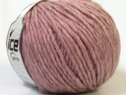 Lot of 4 x 100gr Skeins Ice Yarns FILZY WOOL (100% Wool) Yarn Rose Pink