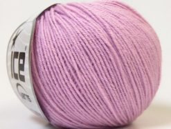 Lot of 6 Skeins Ice Yarns BABY MERINO (40% Merino Wool) Yarn Lilac