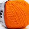 Lot of 8 Skeins Ice Yarns BABY SUMMER (60% Cotton) Yarn Light Orange