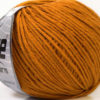 Lot of 8 Skeins Ice Yarns ALARA (50% Cotton) Hand Knitting Yarn Dark Gold