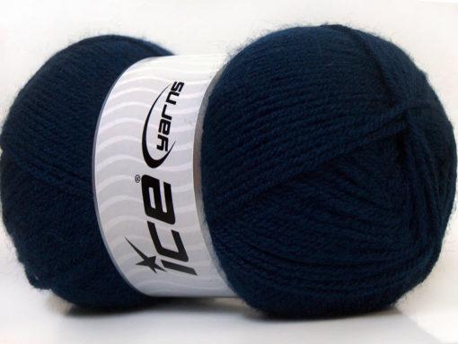 Lot of 4 x 100gr Skeins Ice Yarns SUPER BABY Hand Knitting Yarn Navy