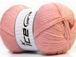 Lot of 4 x 100gr Skeins Ice Yarns SUPER BABY Yarn Light Rose Pink