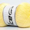 Lot of 4 x 100gr Skeins Ice Yarns BABY ANTIBACTERIAL (100% Antibacterial Dralon) Yarn Baby Yellow