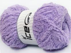 Lot of 4 x 100gr Skeins Ice Yarns PUFFY (100% MicroFiber) Yarn Lilac