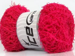 Lot of 4 x 100gr Skeins Ice Yarns SCRUBBER TWIST Hand Knitting Yarn Candy Pink