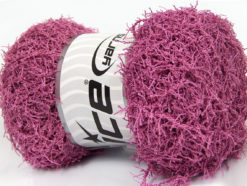 Lot of 4 x 100gr Skeins Ice Yarns SCRUBBER TWIST Hand Knitting Yarn Rose Pink