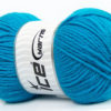 Lot of 4 x 100gr Skeins Ice Yarns SOFTLY BABY Hand Knitting Yarn Turquoise