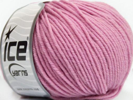 Lot of 6 Skeins Ice Yarns SUPERWASH MERINO Hand Knitting Yarn Light Pink