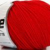 Lot of 4 Skeins Ice Yarns SUPERWASH MERINO EXTRAFINE (100% Superwash Extrafine Merino Wool) Yarn Red