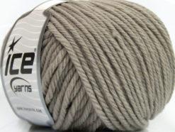 Lot of 3 x 100gr Skeins Ice Yarns SUPERWASH WOOL BULKY (100% Superwash Wool) Yarn Beige