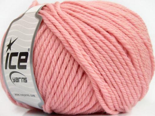 Lot of 3 x 100gr Skeins Ice Yarns SUPERWASH WOOL BULKY (100% Superwash Wool) Yarn Baby Pink