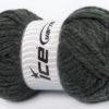 250 gr ICE YARNS ALPINE XL (45% Wool) Hand Knitting Yarn Dark Grey