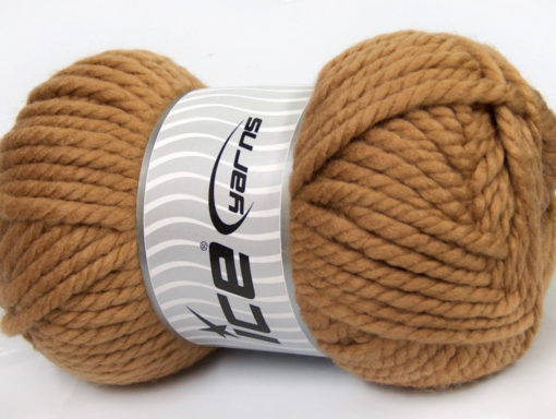 250 gr ICE YARNS ALPINE XL (45% Wool) Hand Knitting Yarn Cafe Latte