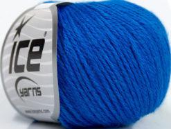 Lot of 6 Skeins Ice Yarns BABY MERINO DK (40% Merino Wool) Yarn Blue