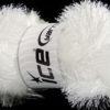 Lot of 4 x 100gr Skeins Ice Yarns EYELASH GLITZ Yarn Optical White