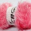 Lot of 4 x 100gr Skeins Ice Yarns EYELASH GLITZ Hand Knitting Yarn Candy Pink