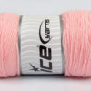 Lot of 2 x 200gr Skeins Ice Yarns SAVER Hand Knitting Yarn Light Pink