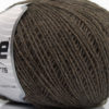 Lot of 8 Skeins Ice Yarns WOOL FINE 30 (30% Wool) Hand Knitting Yarn Dark Camel