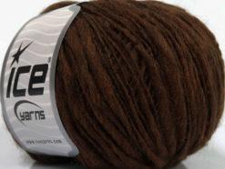 Lot of 8 Skeins Ice Yarns SALE LUXURY-PREMIUM (60% Merino Wool) Yarn Brown
