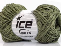 Lot of 8 Skeins Ice Yarns CACTUS TROPICAL Hand Knitting Yarn Khaki