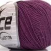 Lot of 4 Skeins Ice Yarns AMIGURUMI COTTON (60% Cotton) Yarn Maroon