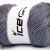 Lot of 4 x 100gr Skeins Ice Yarns NORSK (45% Alpaca 25% Wool) Yarn Dark Lilac