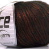 Lot of 8 Skeins Ice Yarns ROCK STAR (19% Merino Wool) Yarn Copper Black