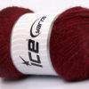 Lot of 4 x 100gr Skeins Ice Yarns NORSK FINE (45% Alpaca 25% Wool) Yarn Burgundy
