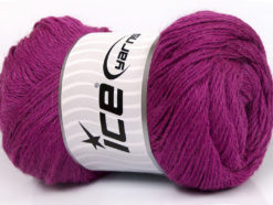 Lot of 4 x 100gr Skeins Ice Yarns NORSK FINE (45% Alpaca 25% Wool) Yarn Orchid