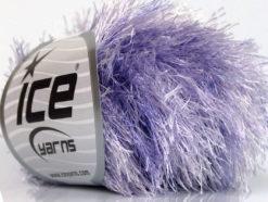 Lot of 8 Skeins Ice Yarns EYELASH COLORFUL Hand Knitting Yarn Lilac Shades