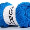 Lot of 4 x 100gr Skeins Ice Yarns NORSK (45% Alpaca 25% Wool) Yarn Blue