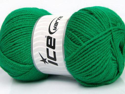 Lot of 4 x 100gr Skeins Ice Yarns GONCA Hand Knitting Yarn Green