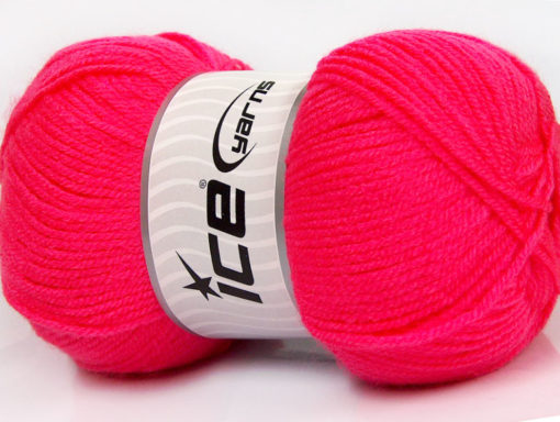 Lot of 4 x 100gr Skeins Ice Yarns GONCA Hand Knitting Yarn Candy Pink