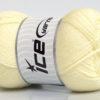 Lot of 4 x 100gr Skeins Ice Yarns DORA Hand Knitting Yarn Lemon Yellow